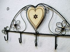 Jewelry Holder, Wire Jewelry, Jewellery, Handmade, Image, Wire Ornaments, Coat Hooks, Art, Jewels