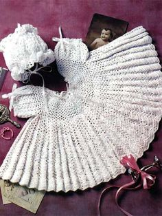 Crochet - Children & Baby Patterns - Dress Patterns - Mary Grace