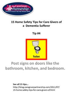 Healthy tips for Caregivers Tip #4 of 15