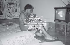 Suzanne Geiss Company is pleased to present Jean-Michel Basquiat, Reclining Nude , an exhibition of rare candid photographs of Jean-Michel Basquiat taken by Paige Powell. Til feb 22 2014