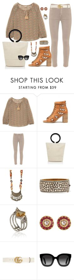 """""""Amrapali"""" by sally-taylor-winter ❤ liked on Polyvore featuring Vanessa Bruno, Mint Velvet, Simon Miller, Amrapali and Gucci"""