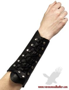 Sherwood Half Archer Bracer Womens - Your choice of color and design!