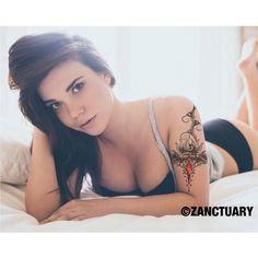 Large Temporary Tattoo Sleeve-Women Temporary Tattoo Sleeve-Floral Temporary Tattoo-Upper Arm Lower Back-Mandala Lotus Fake Tattoo-ZANCTUARY