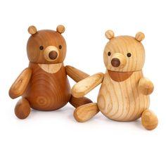 ベイビーベア/木の赤ちゃんくま人形 | take-g | テイクジー | 木のおもちゃ・木の家具