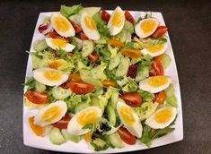 Sałatka nicejska z kurczakiem - Blog z apetytem Cobb Salad, Blog, Blogging