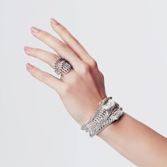 Famous Designer Francis Bitonti's One-of-a-Kind 3D Printed Jewelry Collection