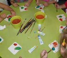 Zaujímavé experimenty s farbami pre deti - Nasedeticky.sk Plastic Cutting Board, Triangle, Education, Creativity, Onderwijs, Learning