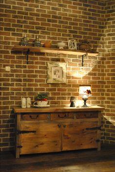 shelf of old wood