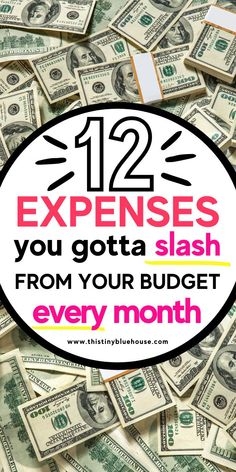 Here are 12 realistic expenses you need to cut out of your budget to start saving more money right now. Day to day expenses add up and with this convenient list of 12 realistic expenses you need to cut out of your budget you'll be saving money in no time! College Loans, Student Loans, Money Tips, Money Saving Tips, Grocery Savings Tips, Debt Repayment, Managing Your Money, Budgeting Tips, Frugal Living