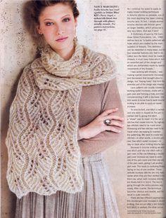Diy Crafts - -ClippedOnIssuu from Vogue knitting international magazine holiday 2014 Vogue Knitting, Knitting Blogs, Lace Knitting, Knitting Stitches, Knitting Designs, Knitting Patterns Free, Crochet Patterns, Lace Patterns, Vintage Knitting