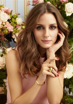 Krisztina Williams Beauty: Olivia Palermo for Ciate London Nail Polish Pretty Hairstyles, Wedding Hairstyles, Olivia Palermo Stil, Olivia Palermo Makeup, Olivia Palermo Wedding, Costume Noir, About Hair, Hair Day, Hair Inspiration