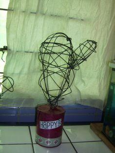 Lamindy artesanias- Cactus en alambre
