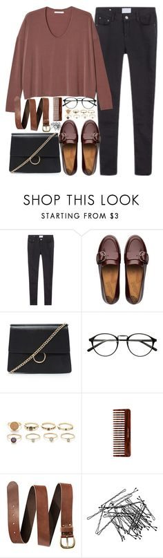 """""""Untitled #3231"""" by peachv ❤ liked on Polyvore featuring FitFlop, Forever 21, (MALIN+GOETZ) and H&M"""