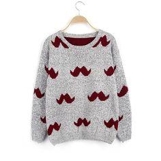 Pullover Loose Cartoon Cute Short Sweater