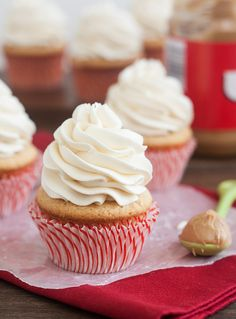 Fluffernutter Cupcakes by Traceys Culinary Adventures