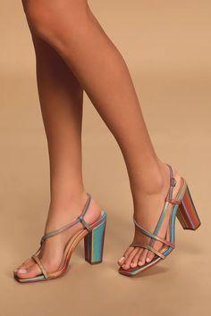 Women High Heels Sandlas Black Stiletto Heels Cheap Shoes Near Me Size 15 High Heels With Big Discount Stilettos, Black Stiletto Heels, Strappy Heels, Holographic Heels, Holographic Fabric, Cheap Heels, Fashion Sandals, Dress And Heels, Designer Shoes