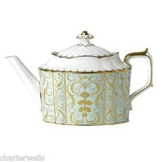 """Darley Abbey"" pattern teapot from Royal Crown Derby"