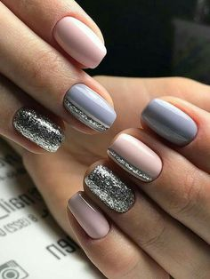 58 Popular Nail Design How To Pick Your Perfect One These trendy Nails ideas would gain you amazing compliments. Check out our gallery for more ideas these are trendy this year. Gelish Nails, Nail Manicure, My Nails, Nail Polish, Manicure Ideas, Popular Nail Designs, Nail Art Designs, Shellac Designs, Nails Design