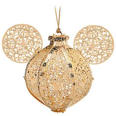 Exclusive Victorian Icon Mickey Mouse Ornament by Baldwin | Ornaments | Disney Store