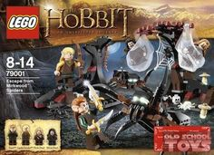 Lego 79001 Escape From Mirkwood Spiders Lord of the Rings (the Hobbit) in doos