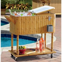 Tiki Cooler #shopkick #summerparty