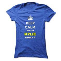 Keep Calm And Let Kylie Handle It - #design t shirt #custom t shirt design. OBTAIN LOWEST PRICE => https://www.sunfrog.com/Names/Keep-Calm-And-Let-Kylie-Handle-It-rlduz-Ladies.html?60505