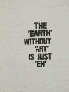 Eh!! Mas arte!!