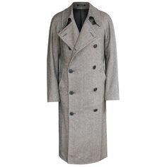 CORNELIANI $1,895 double breasted coat wool silk topcoat overcoat 50 9L NEW  #Corneliani #BasicCoat