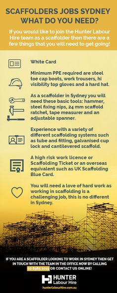 5 Steps to getting a Construction Job in Sydney - Hunter Labour - construction job description