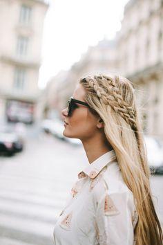 Long Hair Womens Styles : {double braid}
