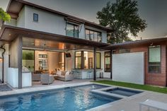 Ethridge Residence - contemporary - Pool - Austin - Cornerstone Architects