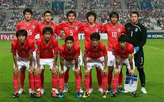South Korea's 2014 World Cup Squad