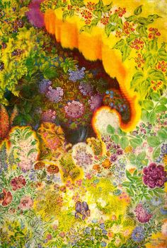 Stunning images...a must see! Kateryna Bilokur – Detail in Folk Art Florals at Patternbank!