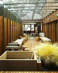 Carmel Residence - Courtyard Screen