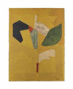 'Composition Jaune'- Poliakoff