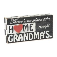Grandma's House Wall Plaque | Kirkland's