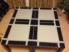 LEGO IKEA Table DIY project. Seriously this is awesome!!