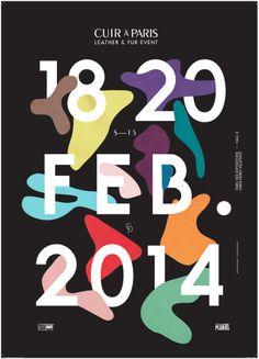 CUIR À PARIS - February 2014 campaign © Les Graphiquants