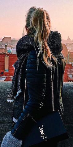 leather spring jacket