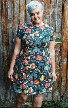 Katie's Megan dress (pattern from Love at First Stitch)