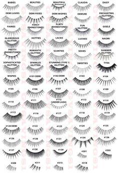 False lashes, eye lashes fake, false eyelashes tips, haar make-up, makeup t Makeup Tips, Beauty Makeup, Hair Beauty, Glam Makeup, Ardell Lashes Styles, Ardell Eyelashes, Fake Lashes, Permanent Eyelashes, Natural False Eyelashes