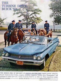 1960 Buick Turbine Drive Convertible Ad