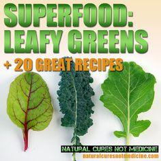 SUPERFOOD- Leafy Greens