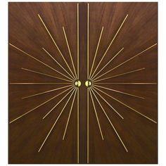 Ray Burst Double Entry Door in Any Size or Specification 1