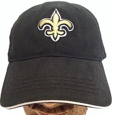 NEW ORLEANS SAINTS LOGO NFL FOOTBALL TEAM BASEBALL CAP HAT