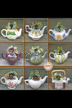 Lovely tea pots