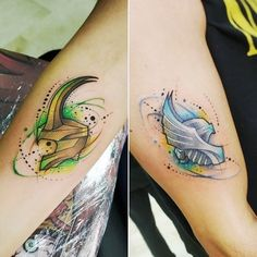 170 ideas creativas de tatuajes Geschwister e inspiraciones bruder loki und thor marvel Loki Tattoo, Marvel Tattoo Sleeve, Dc Tattoo, Tattoo Band, Avengers Tattoo, Helmet Tattoo, Marvel Tattoos, Nerd Tattoos, Tattoos 3d