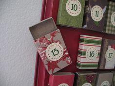 The Craft Patch: Matchbox Advent Calendar