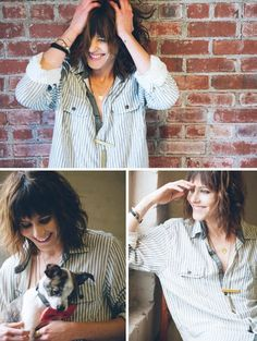 Katherine Moennig for Wildfang Katherine Moennig, The L Word, Androgynous Fashion, Tomboy Fashion, Androgyny, Tomboy Style, Pretty People, Beautiful People, Shane Mccutcheon