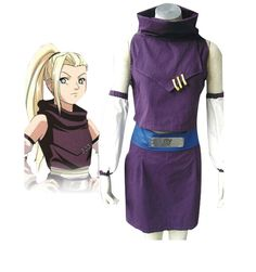 Camplayco Naruto Yamanaka Ino 1st Generation Cosplay Costume-made -- Click on the image for additional details.